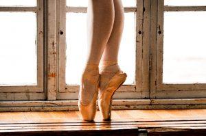 バレリーナの足