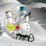 きれいな雪だるまを作るコツ!アンパンマンもオラフも簡単?