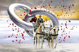 夢の中の結婚式