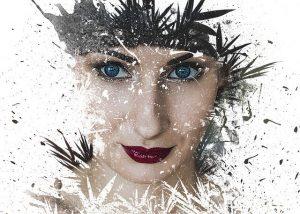 女性の顔イメージ