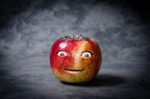 りんごの顔