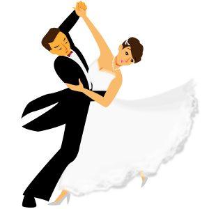 男女で踊る
