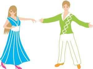 2人のダンス